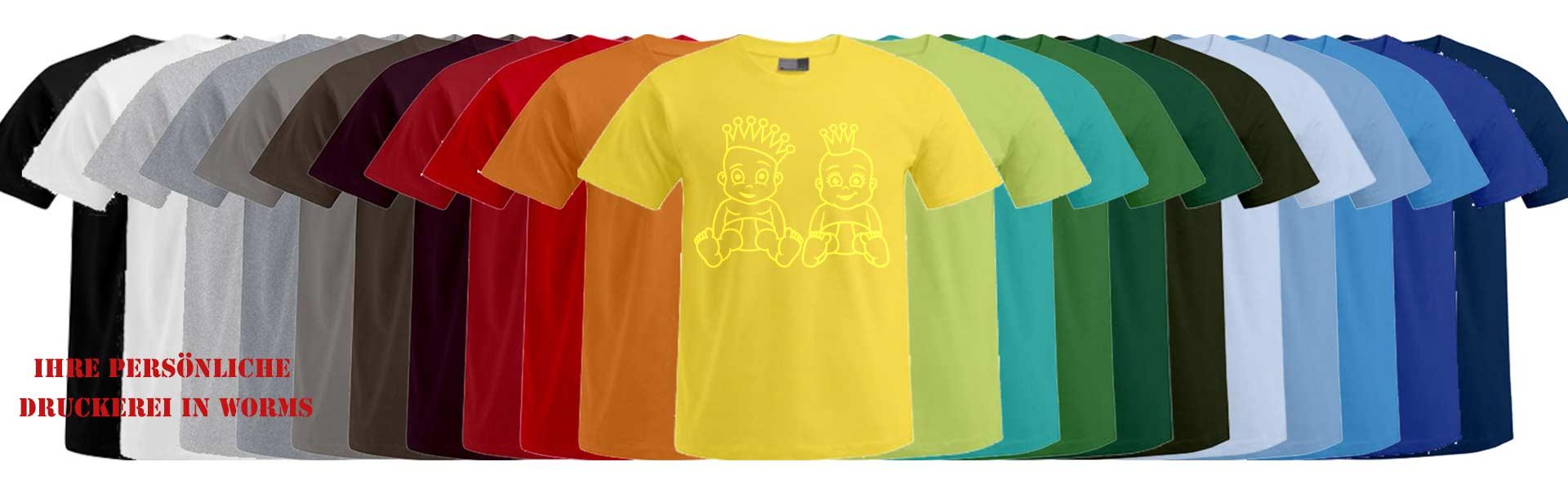 Sofortdruck-Shirt Druckerei Dinger